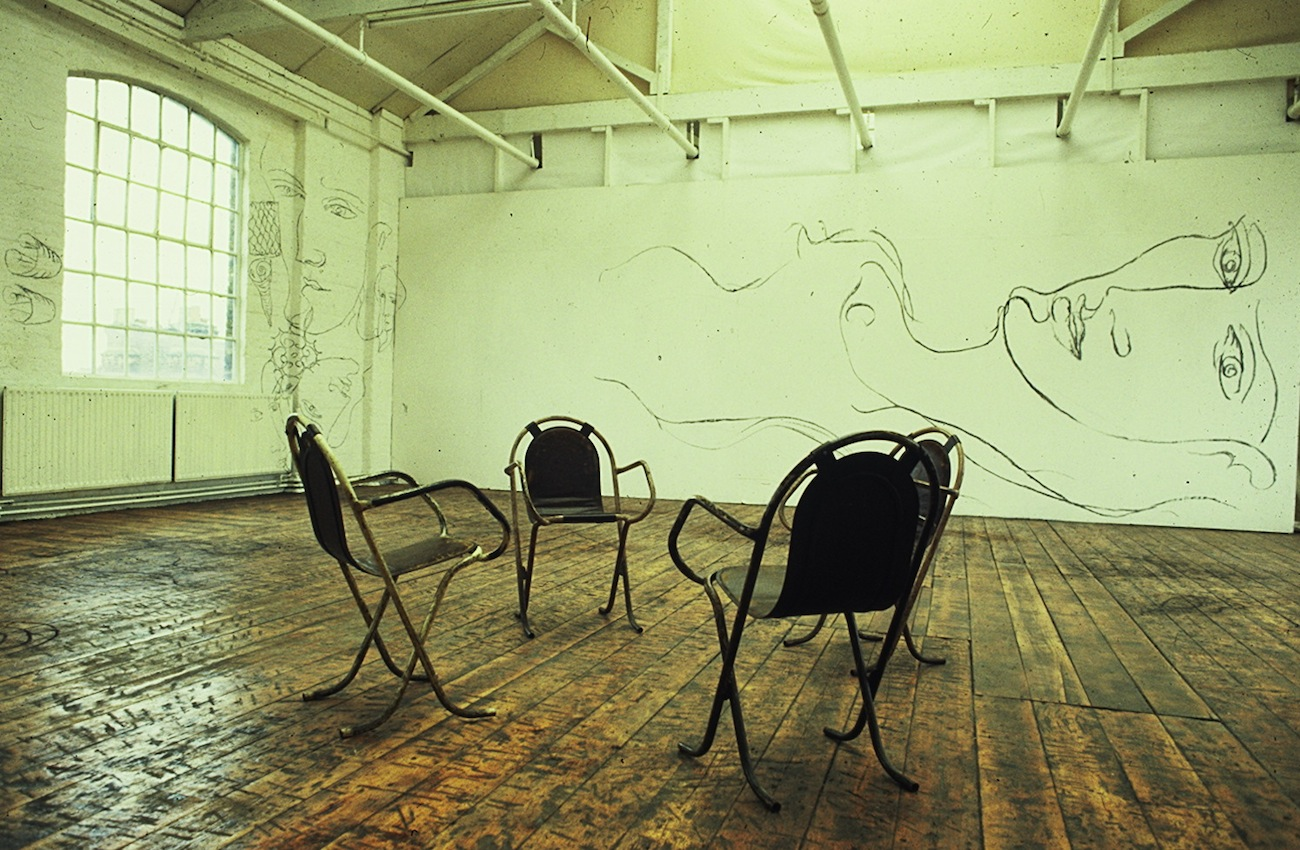 4 Chairs 4 Francois Wall 1987.