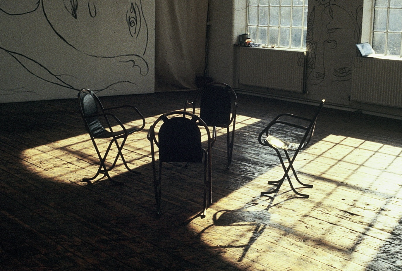 4 Chairs Sunlight 1987.