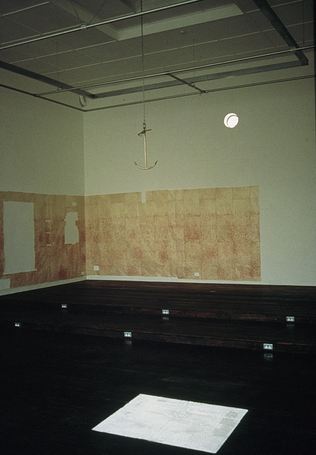 Installation: 'work-surface' 1995 - Beaconsfield Gallery.